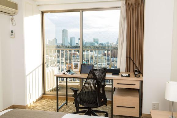 B Typeベッドルームからの眺望