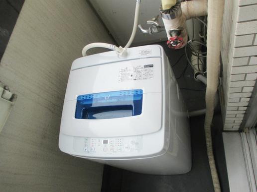 室外洗濯機