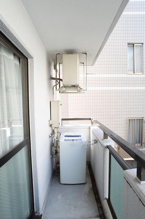 ベランダ・室外洗濯機