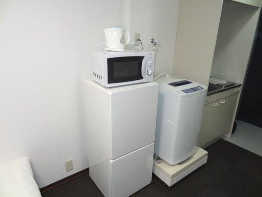 室内洗濯機・冷蔵庫など