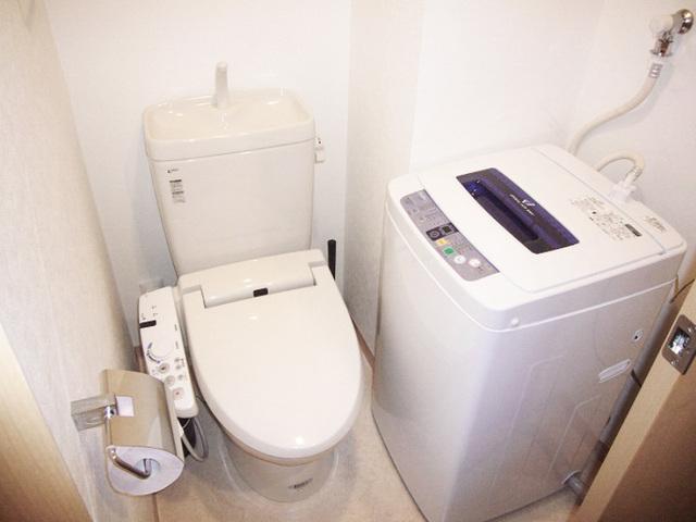 トイレ&洗濯機