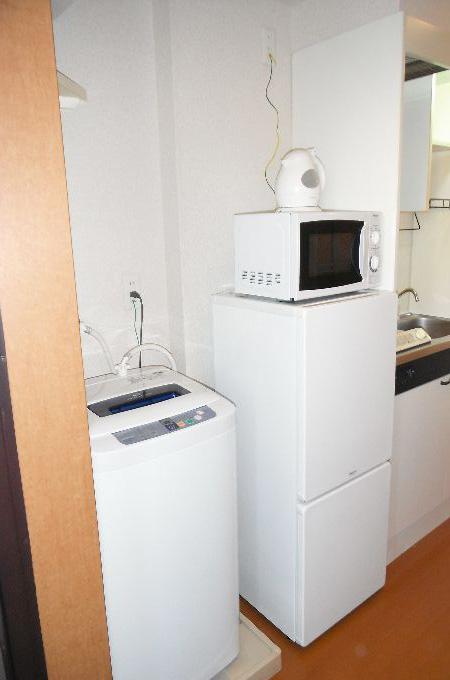 室内洗濯機・冷蔵庫