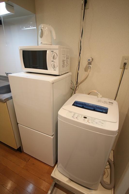 冷蔵庫・室内洗濯機