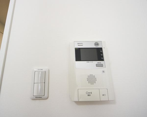 モニター付インターフォン