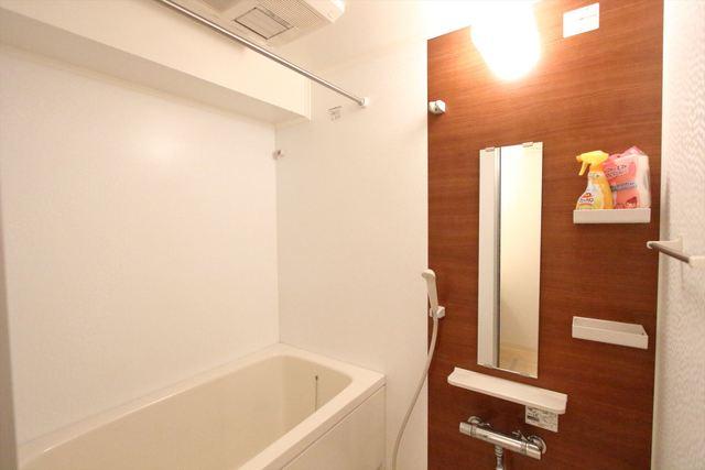 浴室乾燥機能も付いております♪
