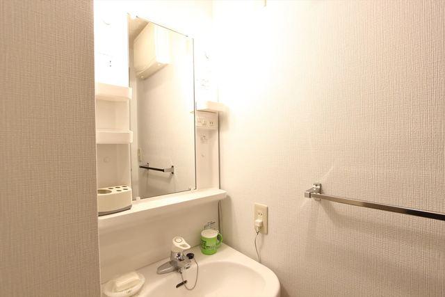 人気の独立洗面の付いたお部屋です♪