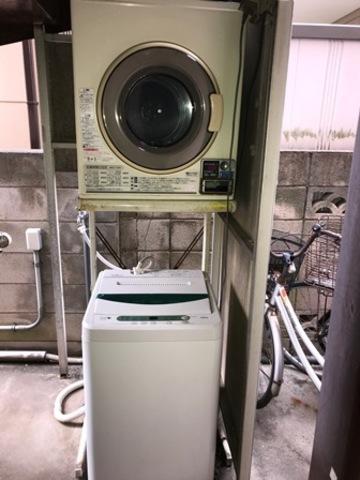 洗濯機は共同となります(無料)