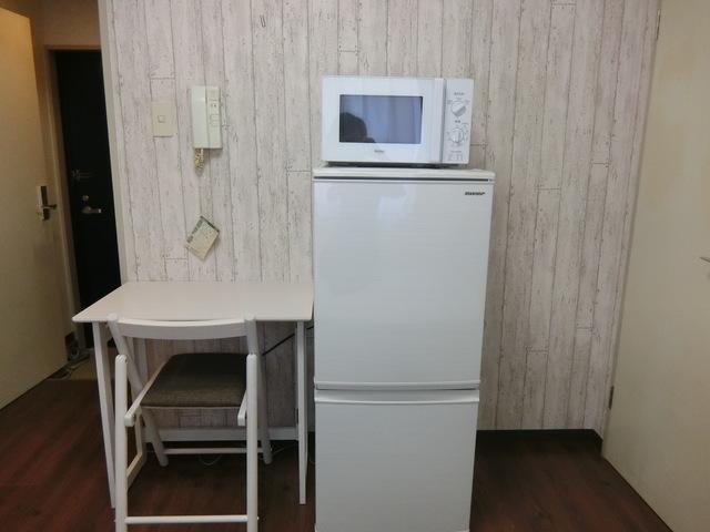 机、冷蔵庫、電子レンジ
