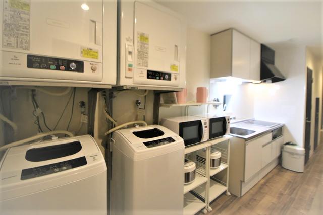 洗濯機・乾燥機3台