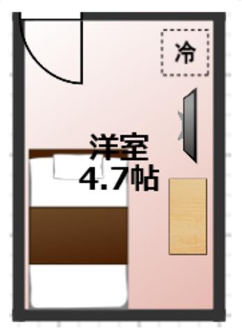 エアコン・TV・冷蔵庫・デスク各部屋完備