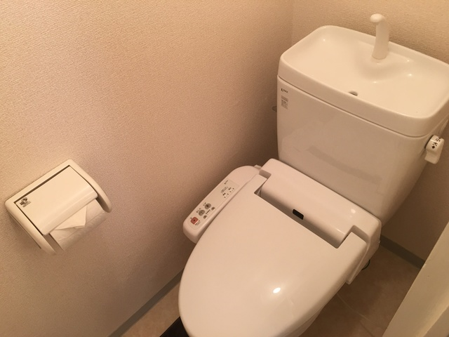トイレとバスは独立しています