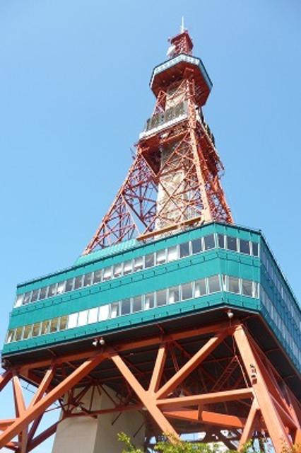 徒歩3分で札幌テレビ塔です♪