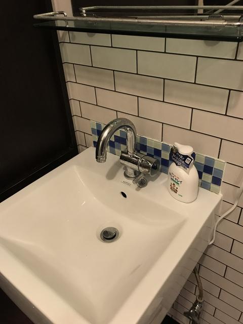 コンパクトな洗面所