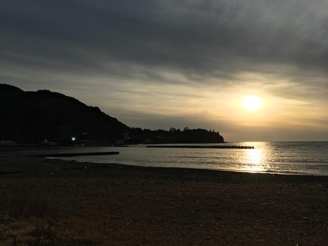 徒歩3分の海岸