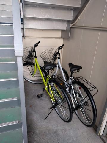 2018.08.01購入の自転車を無料にてお貸し致します