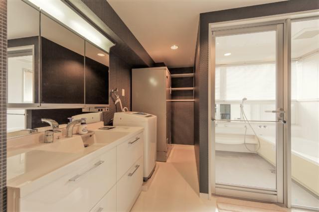 三面鏡、洗濯機