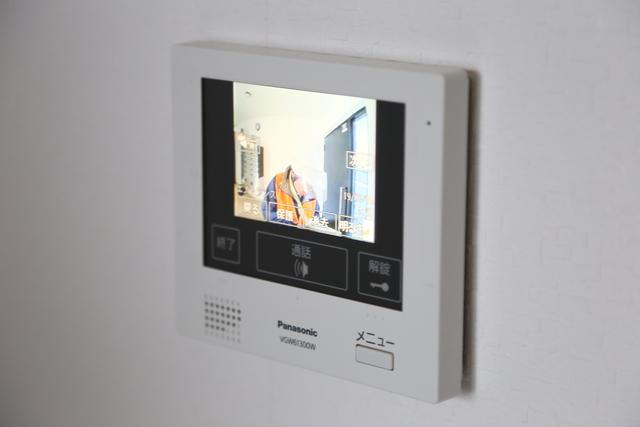 液晶TVモニター付きインターホン