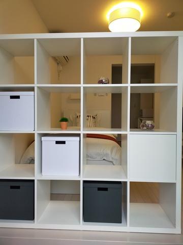 ホワイトを基調としたお部屋です。