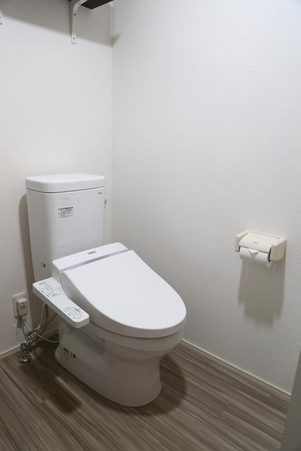 温水シャワー便座付トイレです。