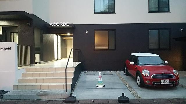 敷地内にはカーシェアリングやレンタサイクルあります。