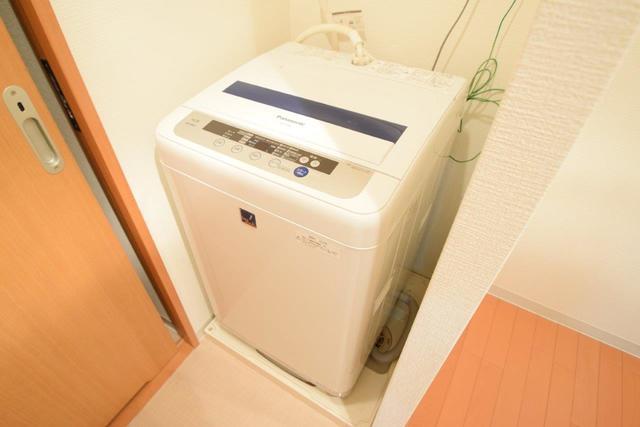 室内洗濯パンがあるのは便利ですね。