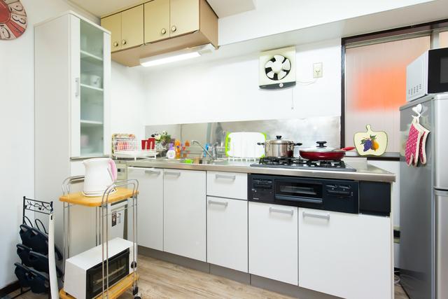 広くて使いやすいキッチンです。