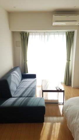 南からの日差しが差し込む、気持ちの良いお部屋です!