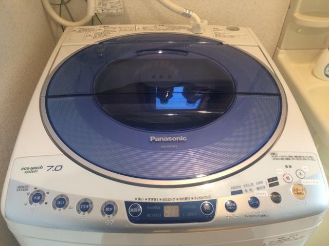 (202号室)洗濯機