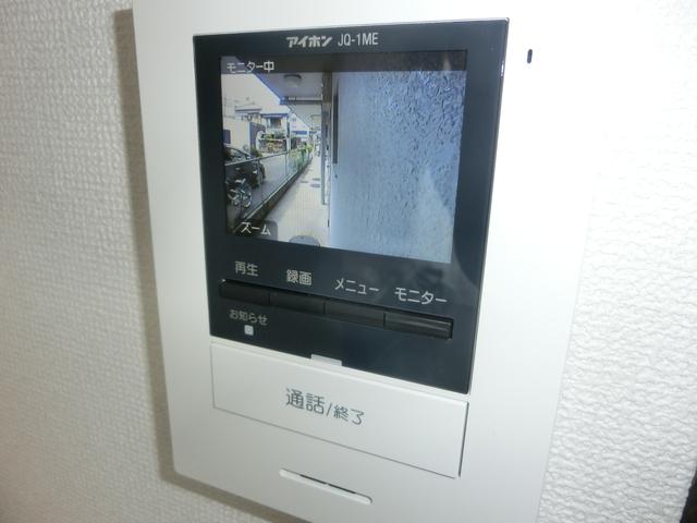 自動録画式カラーインターホン