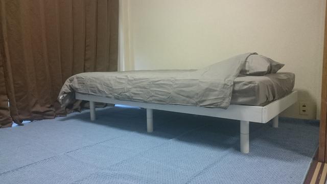 広々ベットルームと安眠の遮光カーテンで休日は寝坊三昧を堪能