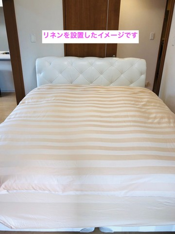 セミダブルベッド。