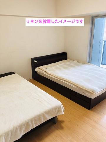 廊下左側にはベッドルーム。