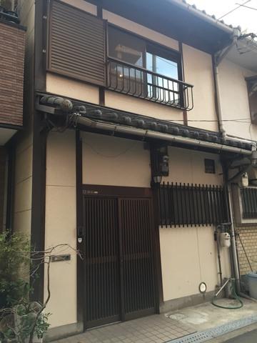 白灯庵 大阪に残る数少ない町家
