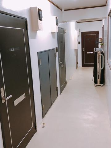 内廊下 玄関