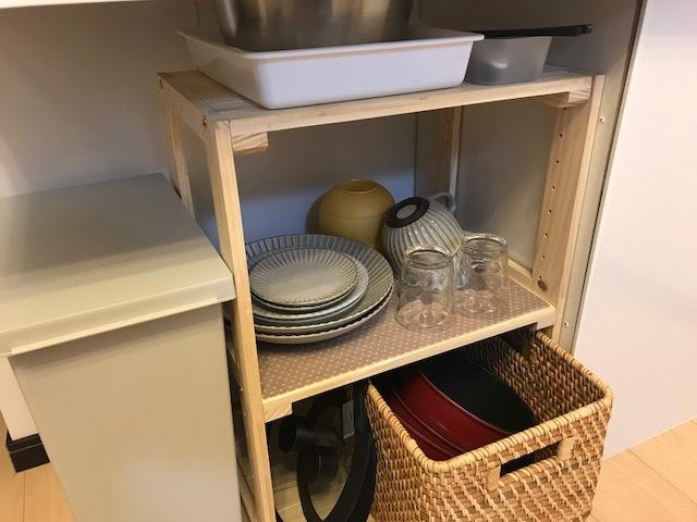 食器や調理器具も取り揃えております