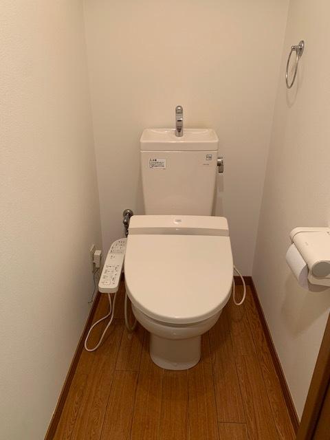 ウオシュレット付 トイレ掃除1式