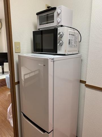 トースター 電子レンジ 冷蔵庫199ℓ