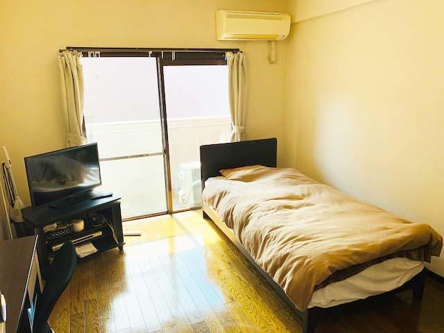 ワンルームタイプのマンション、Wi-Fi使用可能です。