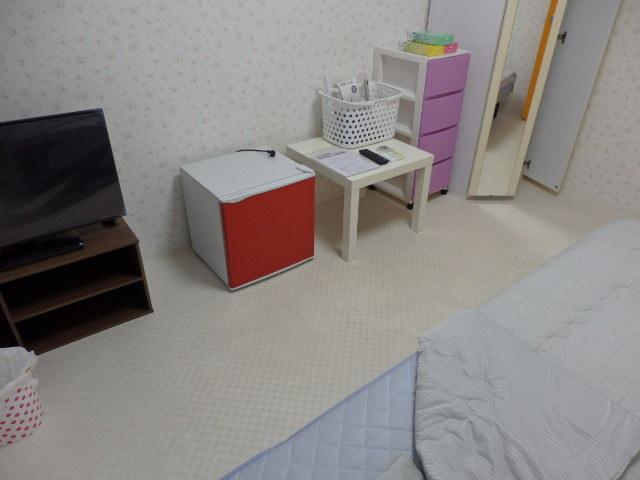 鍵付き個室、各室エアコン完備