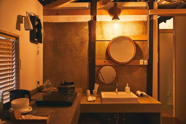 トイレ、キッチン、浴室、洗面、洗濯機、乾燥機完備。