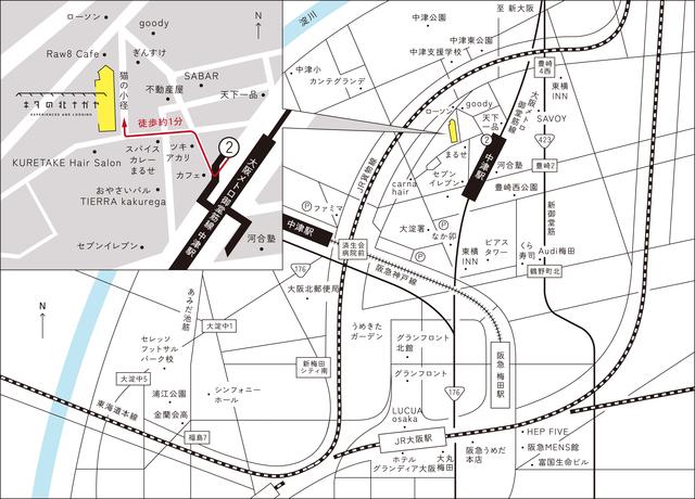 周辺は生活施設、飲食店が多いです。JR大阪駅も徒歩圏です。