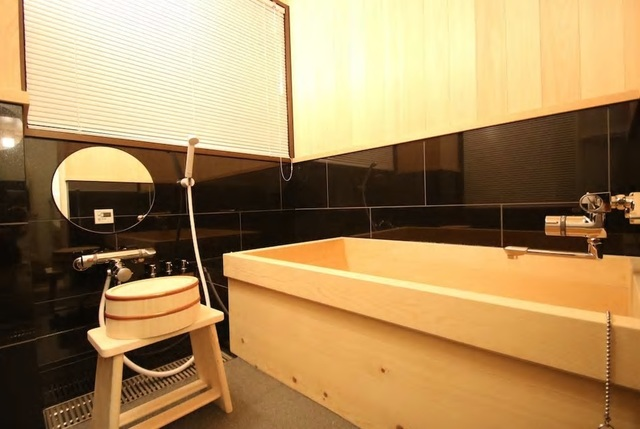 コウヤマキの浴槽